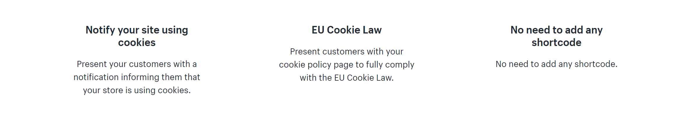 eu gdpr features