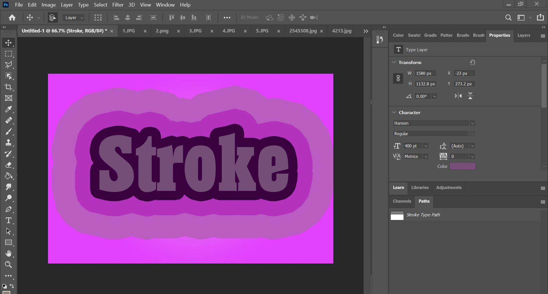 how to outline in photoshop