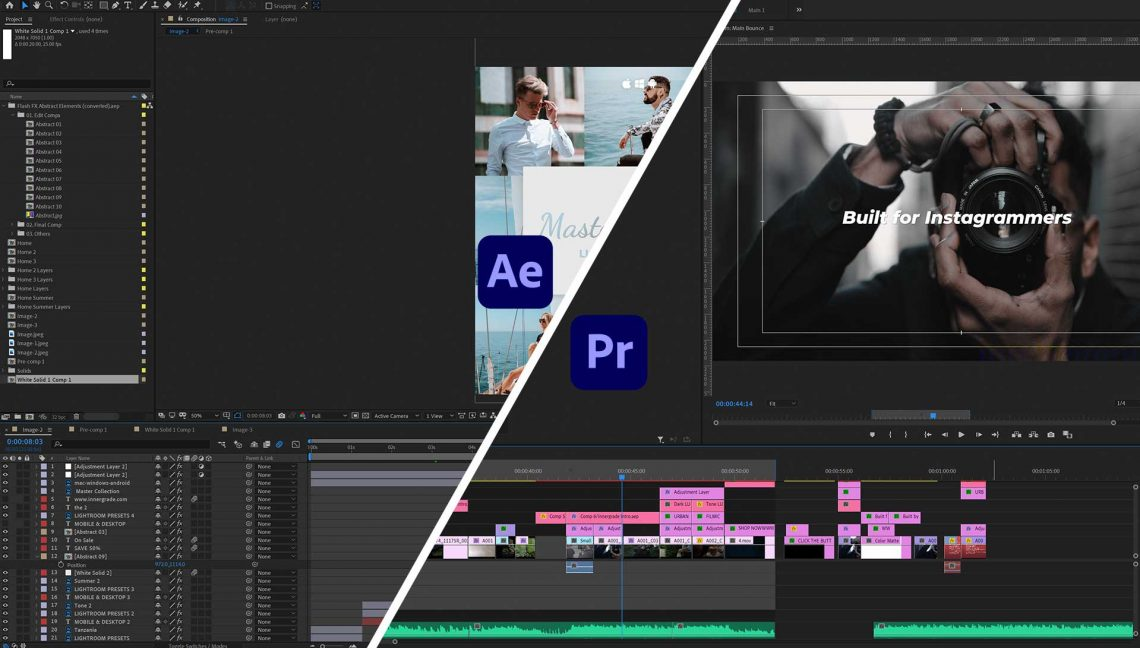 after effects premiere pro