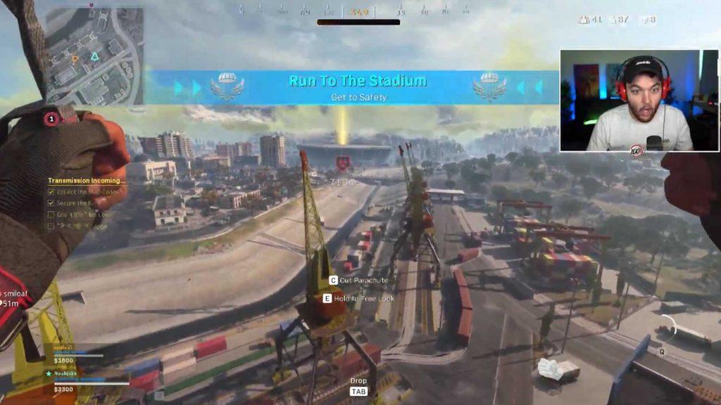stadium cod warzone game