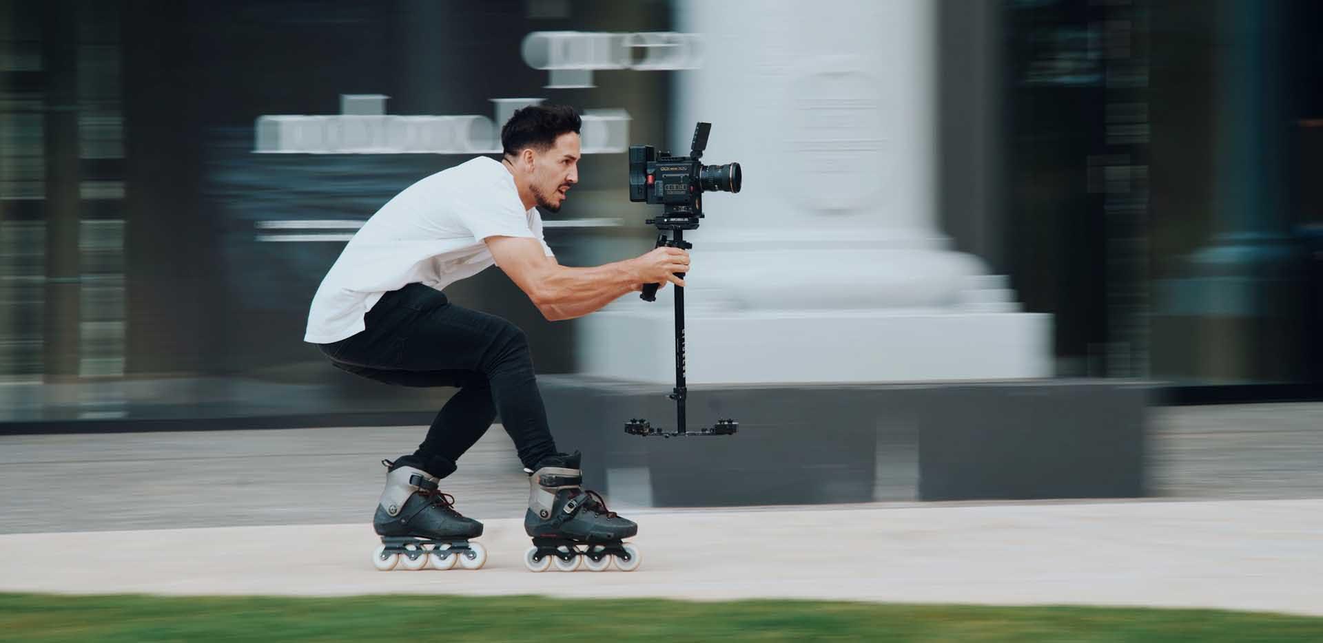 rollerblading camera