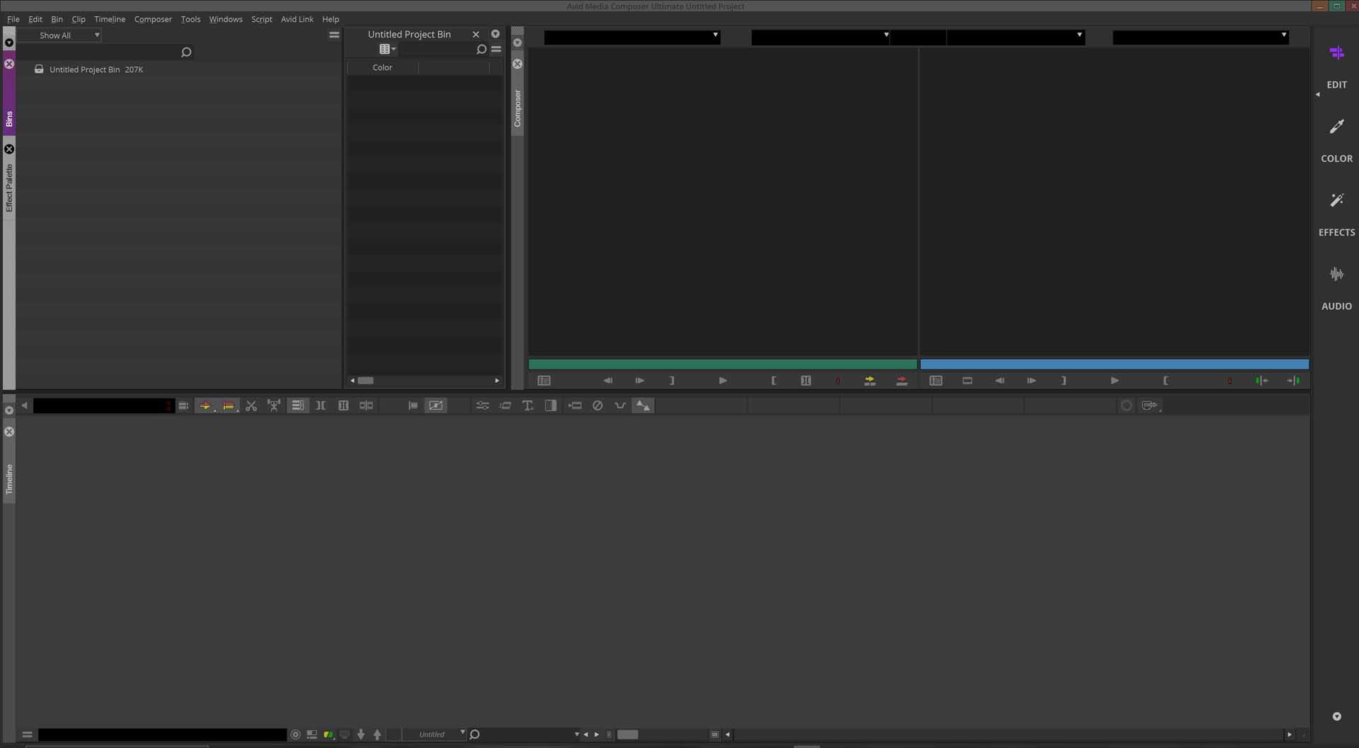 avid editing video software