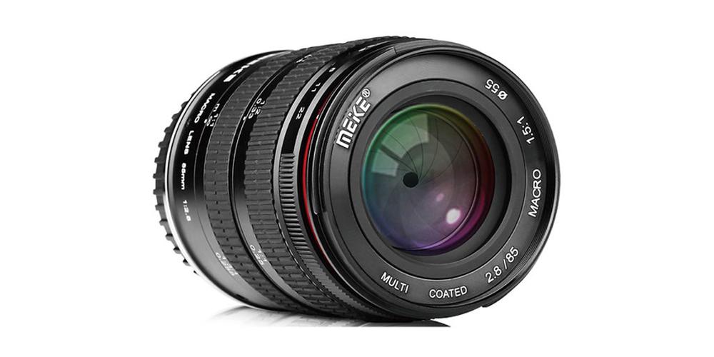 Meike 85mm macro lens