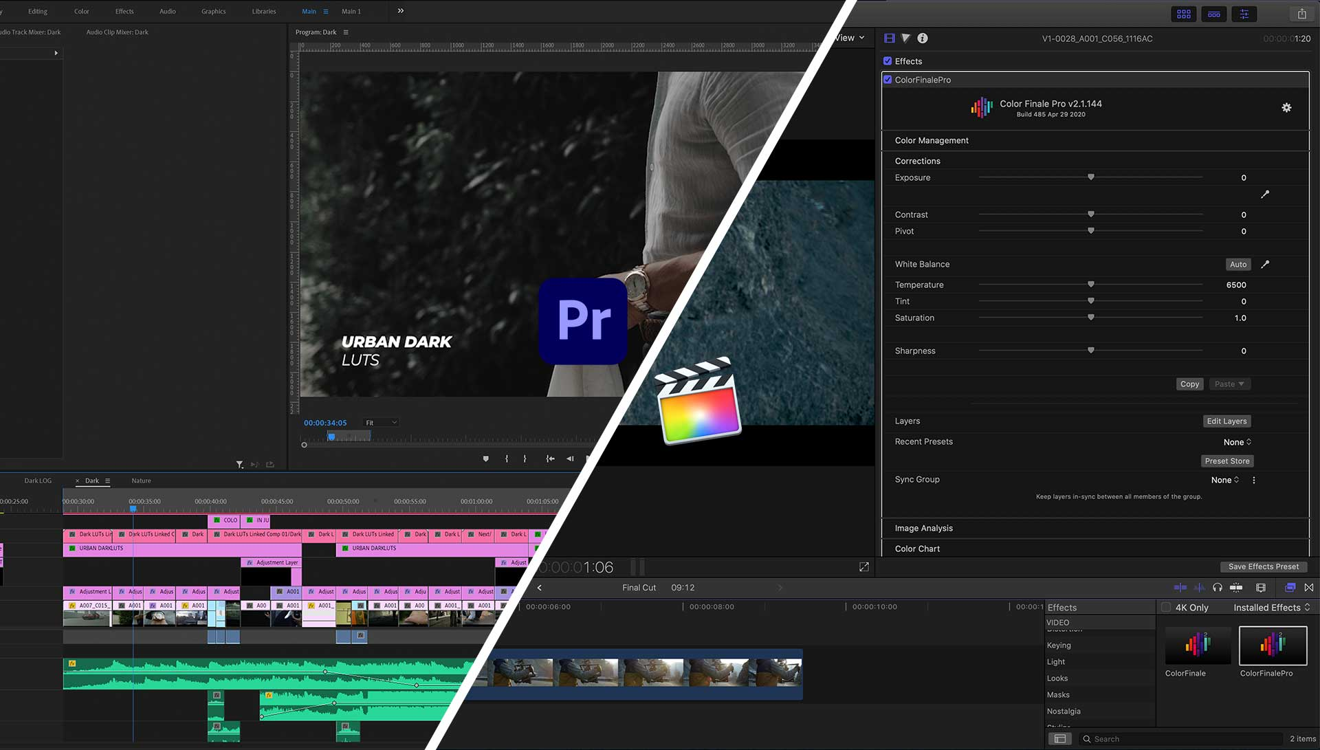 premiere pro vs. final cut