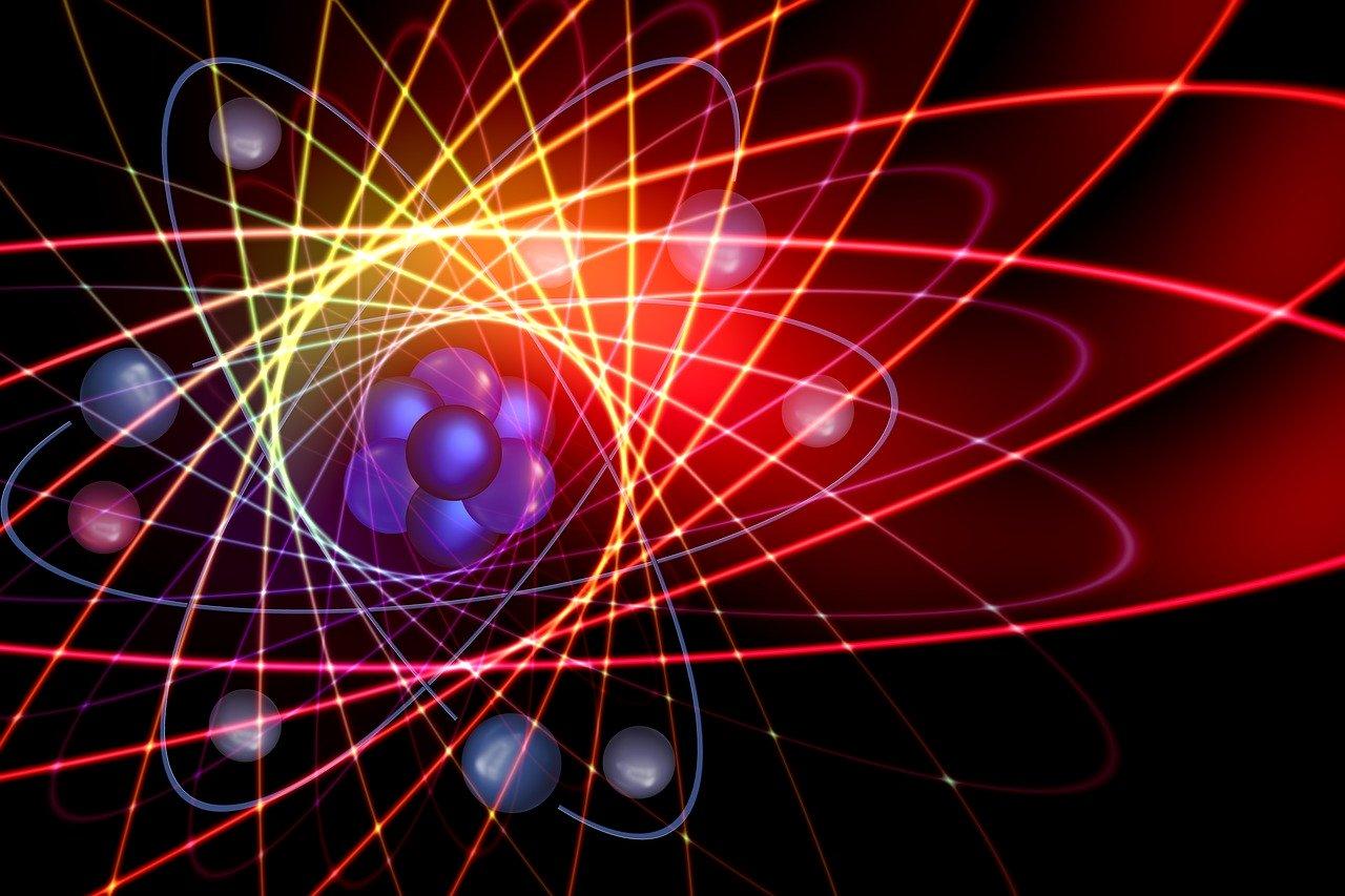 atom in a quantum state