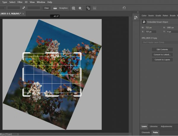 Rotate An Image In Photoshop