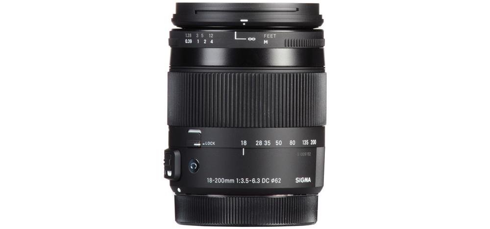 Sigma camera lens 18-200mm