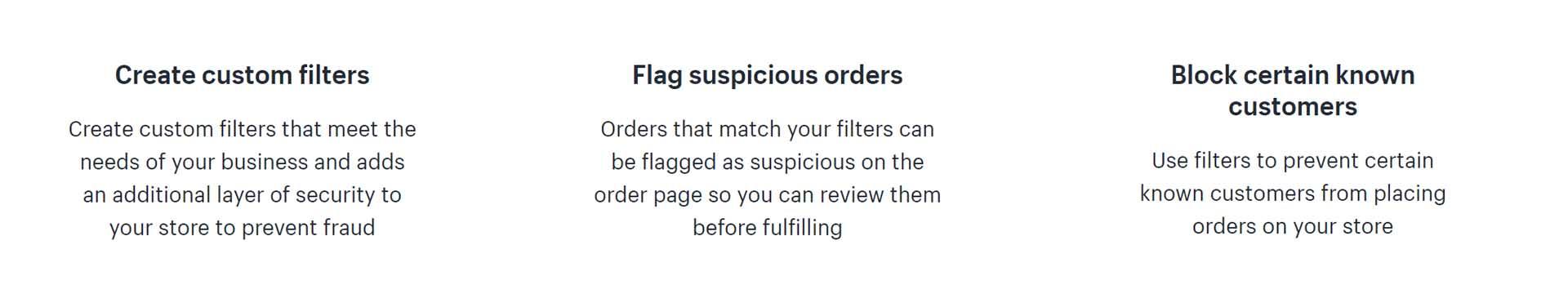 nofraud app shopify