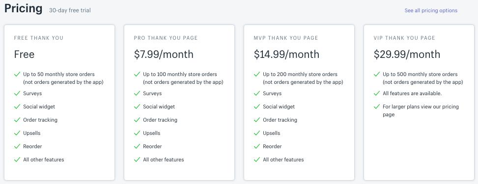 ReConvert App pricing