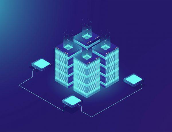 graphics explaining the blockchain concept