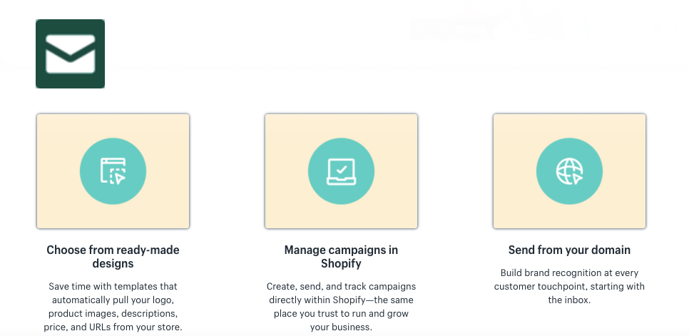 Shopify Email App