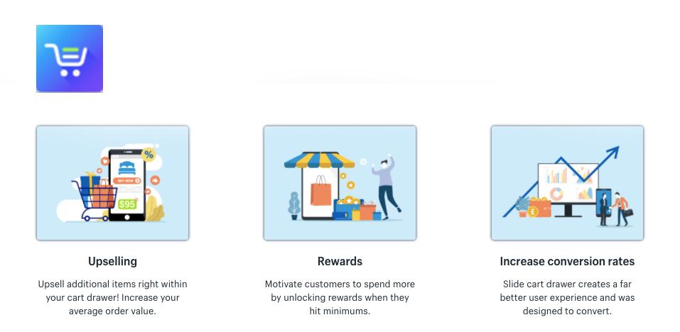 Slide Cart Shopify App