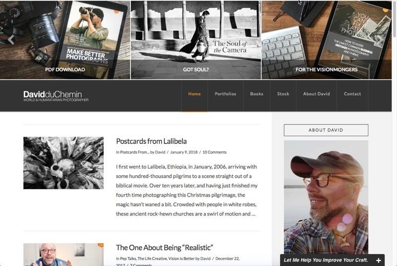 Davis duChemin website