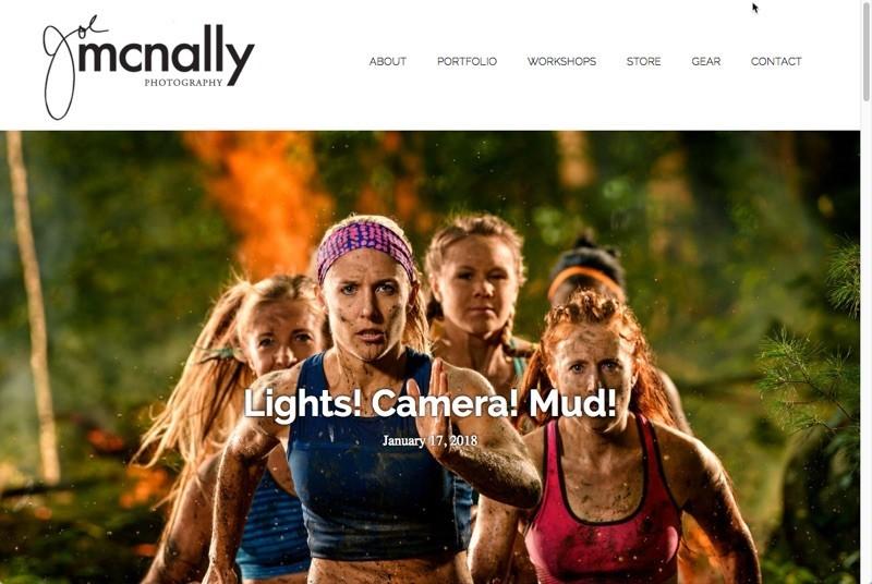 Joe McNally website