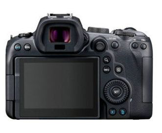 canon r6 back view