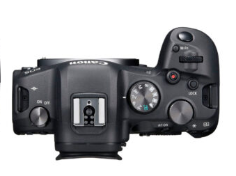 canon r6 top view