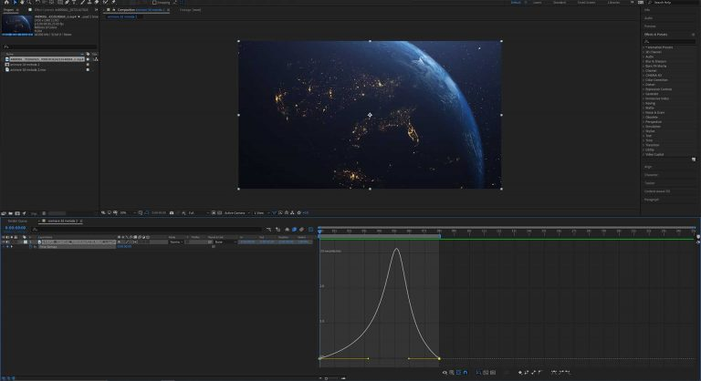 speed ramping after effects