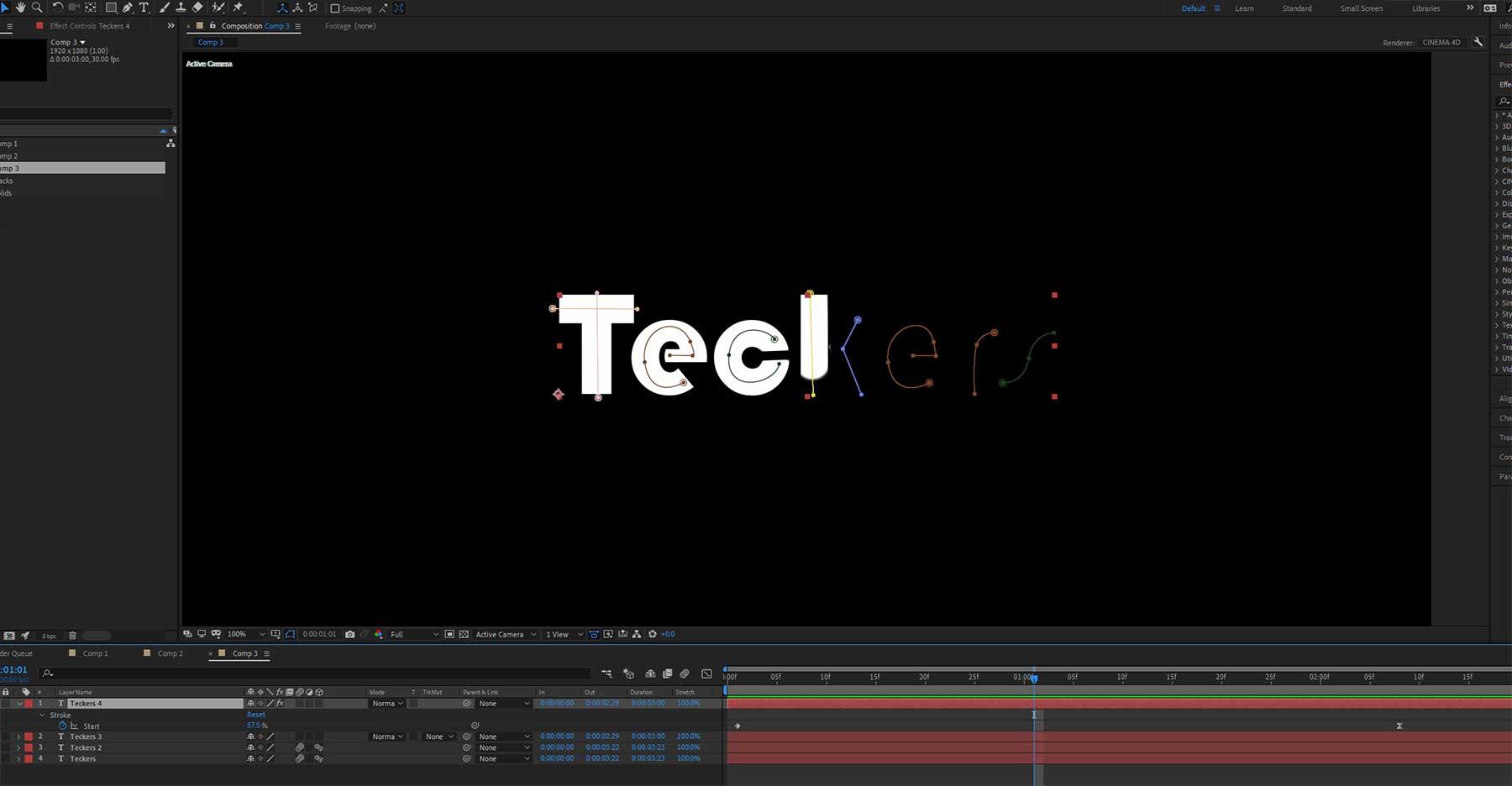 creative ways to animate aext