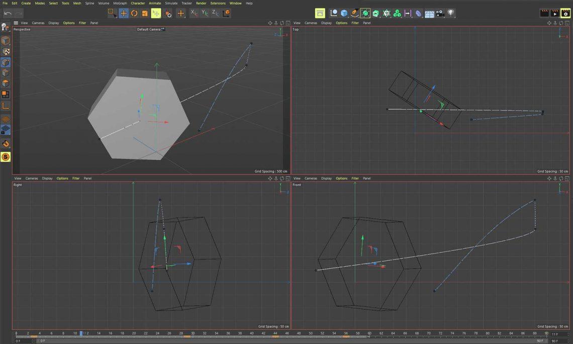 Animate In Cinema 4D