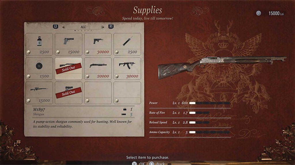 gun supplies game