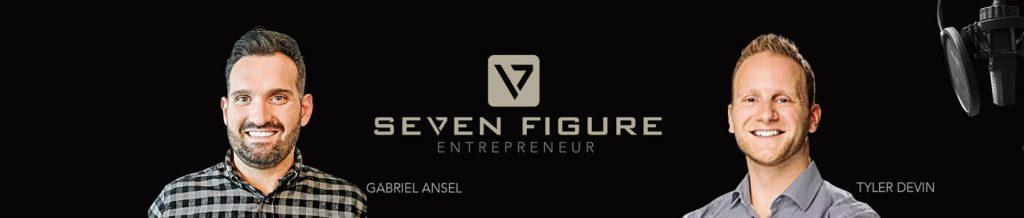 gabriel tyler from the podcast 7 Figure Entrepreneur