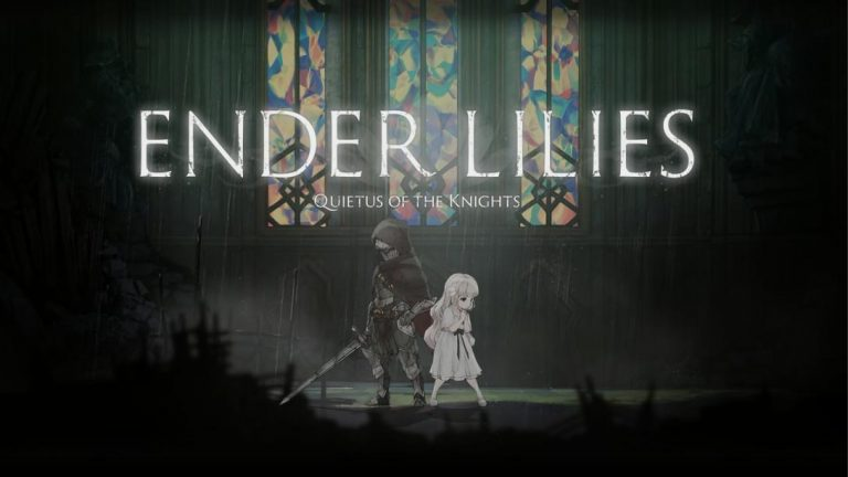 The Main game title screen