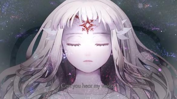 Lily the main character awakening from a long sleep
