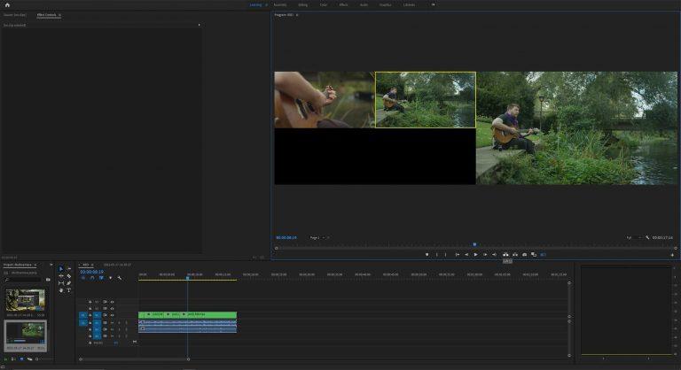 Use Multicamera in Adobe Premiere Pro