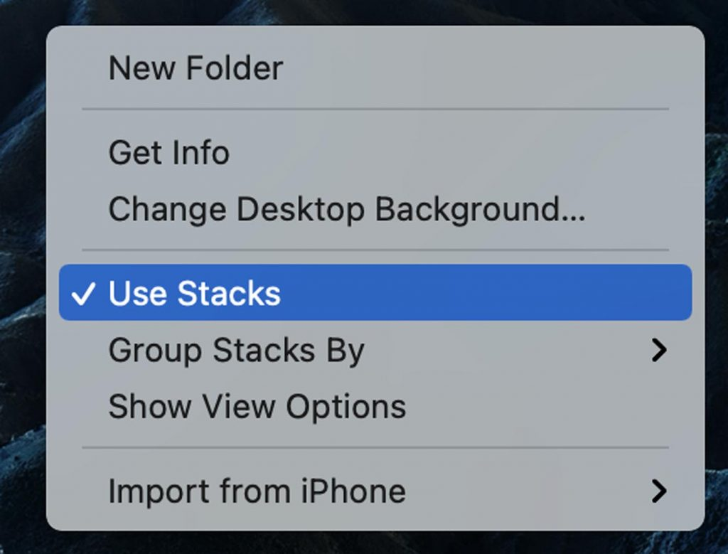 stacks feature
