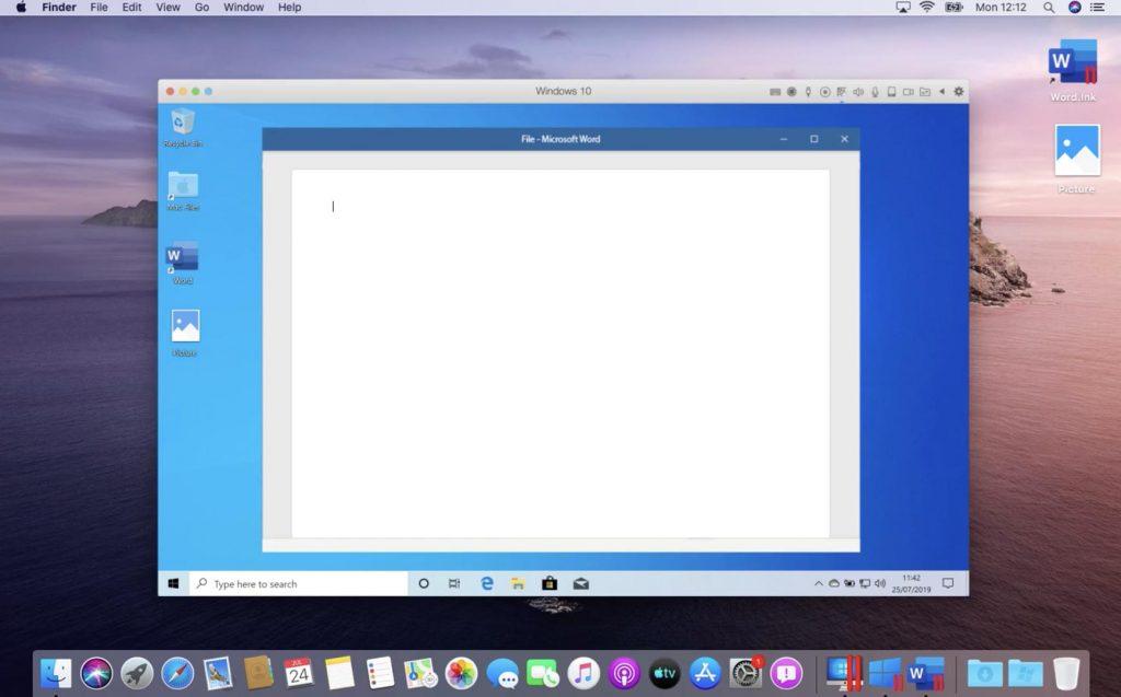 parallels desktop example
