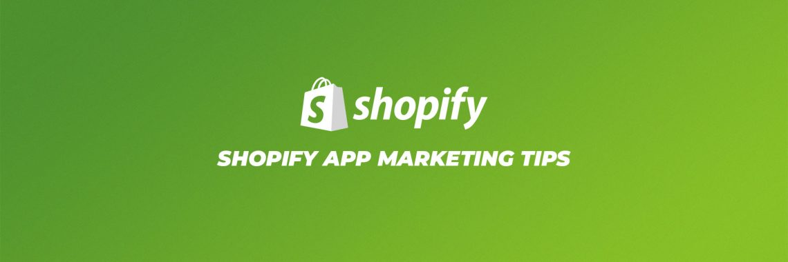 hoe to market a shopify app