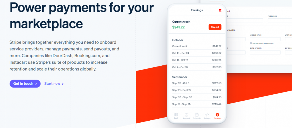 Split Payment Option Three - Stripe for Marketplace