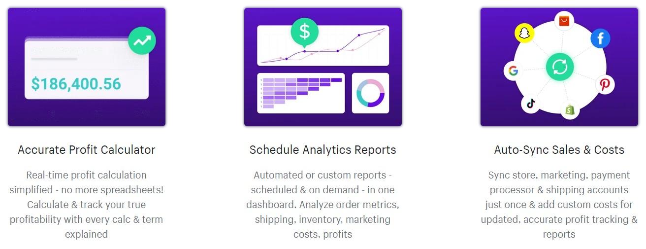 beprofit features